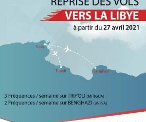 Tunis air confirms resumption of flights to Libya as of 27 April