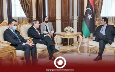 Menfi, Draghi review ways to activate Libya-Italy friendship treaty