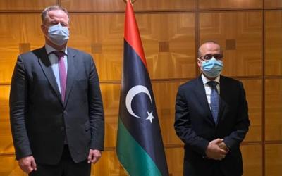 Libya, Netherlands discuss cooperation
