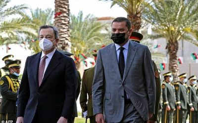 Italy, Greece PMs join influx of visitors to Libya in transition
