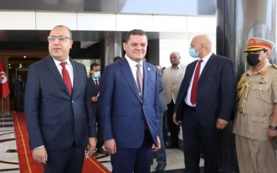 Tunisia PM visits Libya seeking economic cooperation