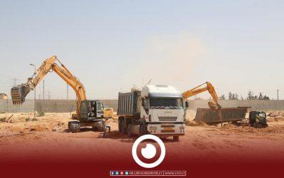 West Tripoli power plant project work underway