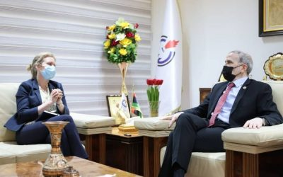 NOC chief discuss prospects of oil cooperation with Britain