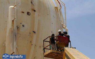 Brega seeks to restore 50% of storage capacity of gas
