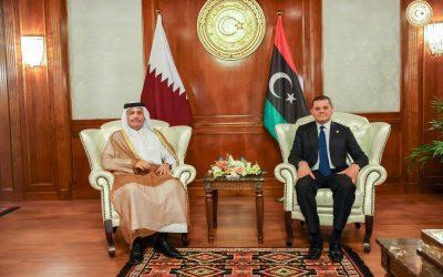 Libya, Qatar review boosting bilateral relations