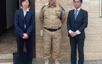 Japan discusses reopening its embassy in Tripoli