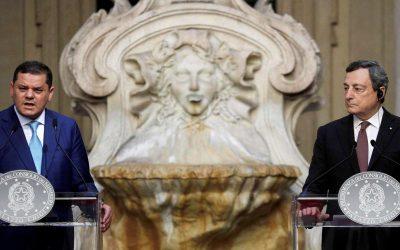 Economic interests dominate Debeibah's talks in Rome