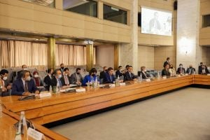 Aldabaiba attends the New Libya Economic Forum in Rome