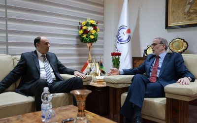 NOC chairman, Egyptian ambassador review activation of joint agreements in oil field