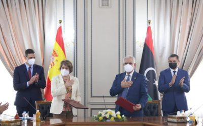 Libya's and Spain's General Chambers of Commerce sign MoU