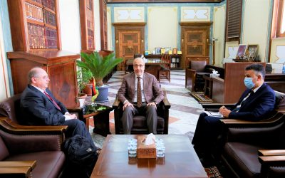The Central Bank examines cooperation with the World Bank