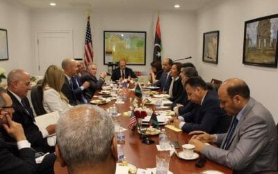 Head of Audit Bureau vows to solve US firms' problems in Libya