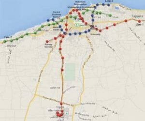 Chinese-led foreign consortium to invest and implement Tripoli metro and bus network