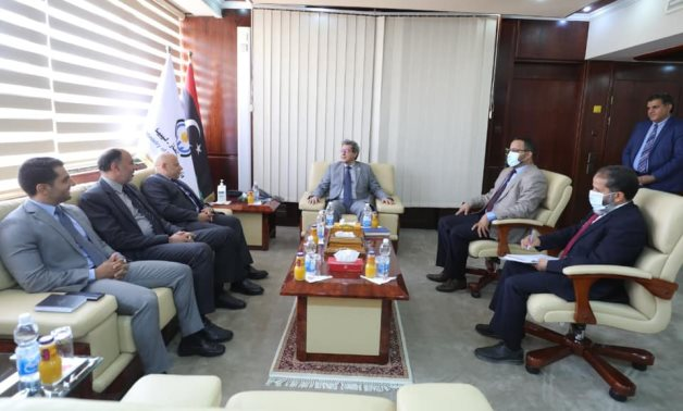 Head of Cairo's mission to Tripoli, Libyan ministers discuss preparations to open Egyptian embassy, consulate