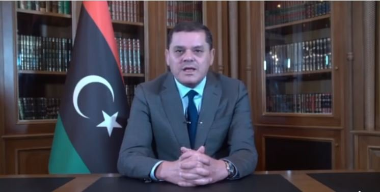 PM Aldabaiba speaks to Bloomberg on elections, foreign intervention, Saif Qaddafi, Hafter, departure of mercenaries, foreign investment and replacing Sanalla