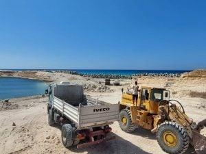 Al-Maya port construction restarts after 12-year stop