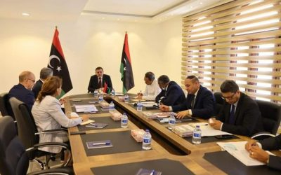 Libyan PM reviews work plan proposed by World Bank